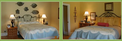 Before and After Custome Designed Bedding Gallery